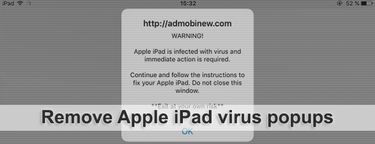 how to clear virus on ipad